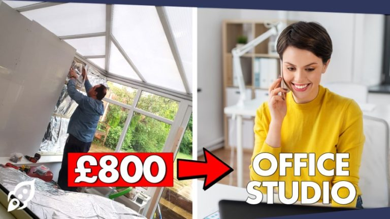 Conservatory To Room Conversion Home Office Video Studio